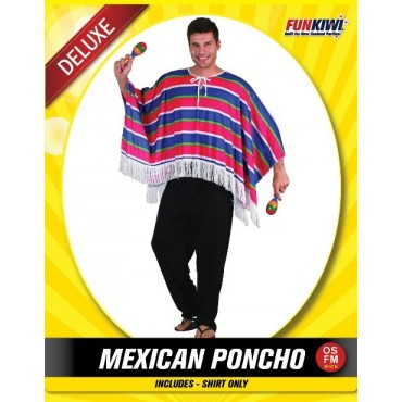 Costume Adult Mexican Poncho