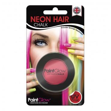 Hair Chalk Neon UV Intense Red