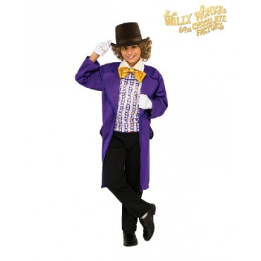 Costume Child Willy Wonka L