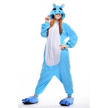 Onesie Hippo Blue S
