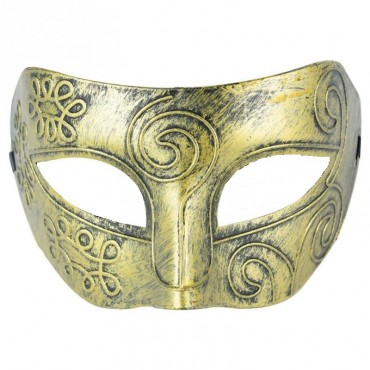 Mask Antique Venetian Gold