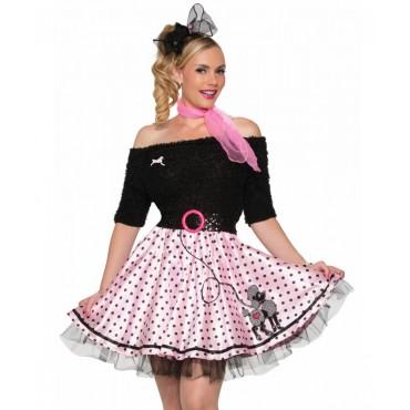 Costume Adult Poodle Skirt...
