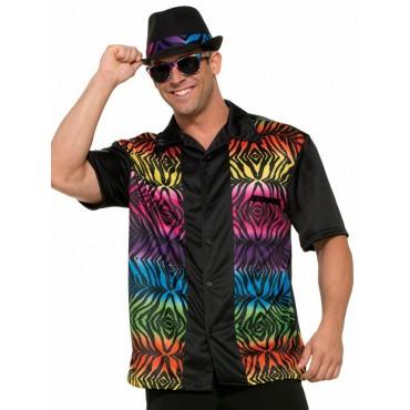 Costume Adult Bowling Shirt...