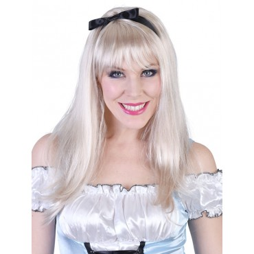 Wig Alice Long Blonde with...