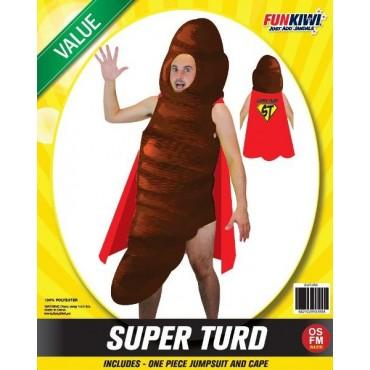 Costume Adult Super Turd Poop