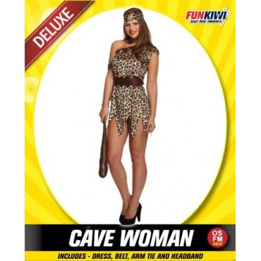 Costume Adult Cavewoman Female