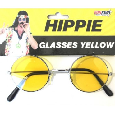 Glasses Hippie Lennon Yellow