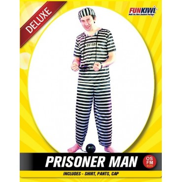 Costume Adult Prisoner Convict