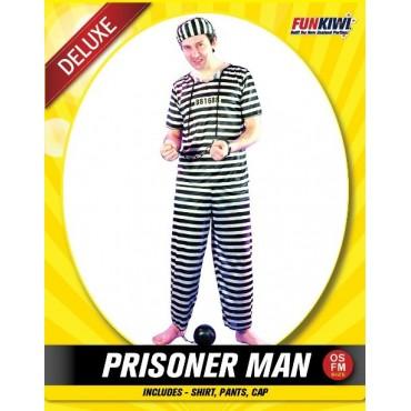 Costume Adult Prisoner Convict