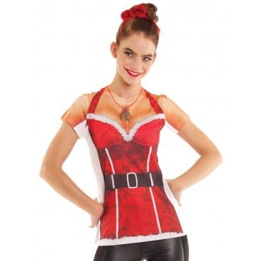 Faux Real Dress Mrs Santa M