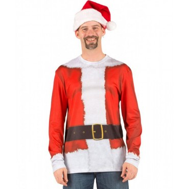 Faux Real Shirt Long Santa...