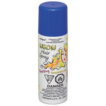 Hair Spray Neon Blue