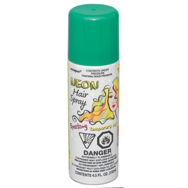 Hair Spray Neon Green