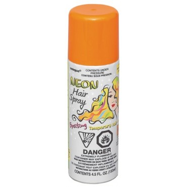 Hair Spray Neon Orange