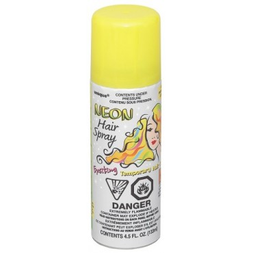 Hair Spray Neon Yellow