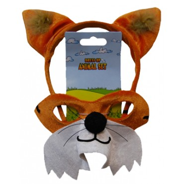 Mask and Headband Fox