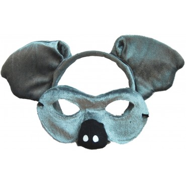 Mask and Headband Koala Grey