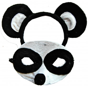 Mask and Headband Panda