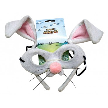 Mask and Headband Rabbit