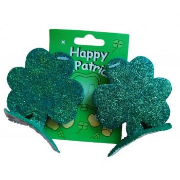 St Patricks Hair Clips...