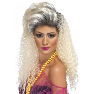 Wig 80's Bottle Blonde...