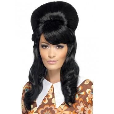 Wig Brigitte Bouffant Black...