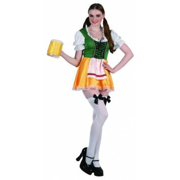 Costume Adult Beer Girl ML