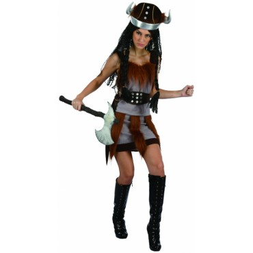 Costume Adult Viking Lady ML