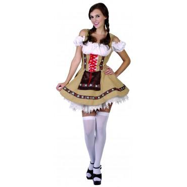 Costume Adult Gretel Girl SM