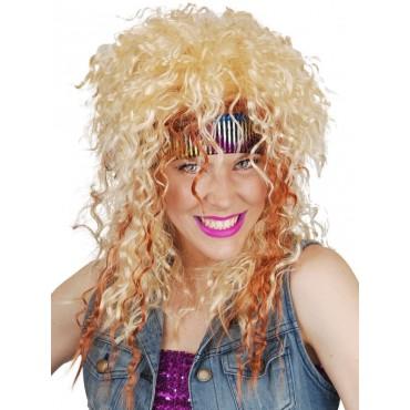 Wig 80's Rocker Blonde