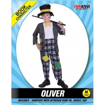 Costume Child Clown Boy Oliver