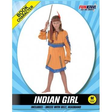 Costume Child Indian Girl