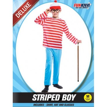 Costume Child Where's Wally