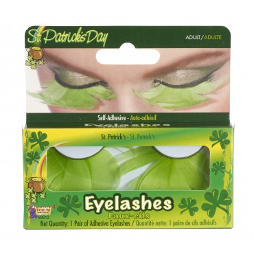Eyelashes Feather Green St...
