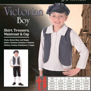 Costume Child Victorian Boy L