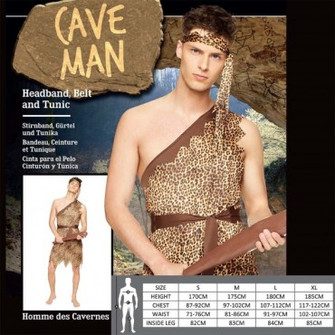 Costume Adult Caveman L