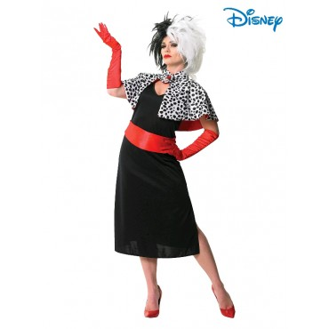 Costume Adult Cruella De Vil M