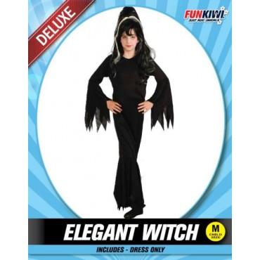 Costume Child Witch Elegant...