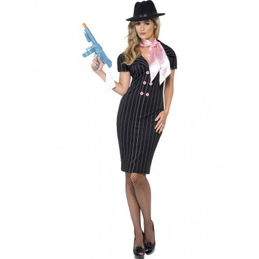 Costume Adult Gangster Lady S