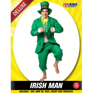 Costume Adult Irish Man