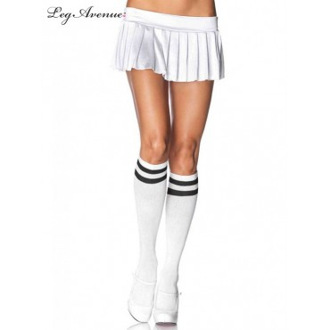 Tights Athletic White Knee...