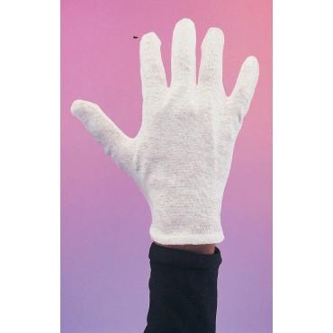 Gloves Short White Male