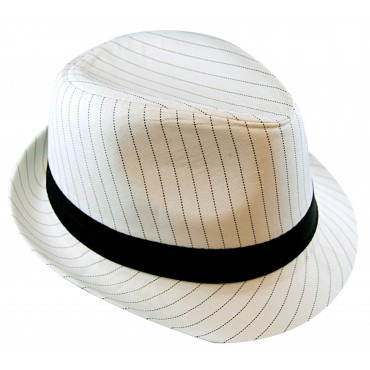 Hat Gangster White with...