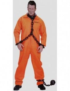 Costume Adult Prisoner Orange