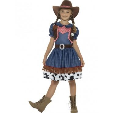 Costume Child Cowgirl Texan M