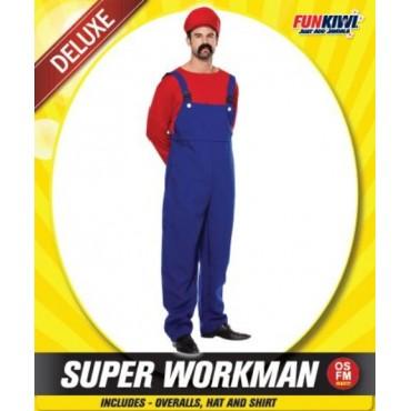 Costume Adult Mario