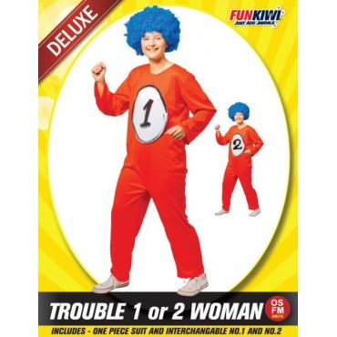 Costume Adult Thing 1 or 2...