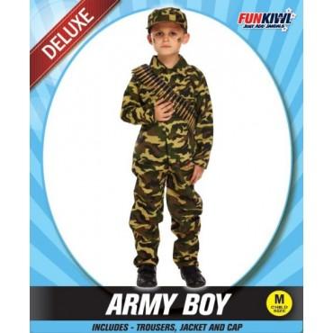 Costume Adult Army Boy