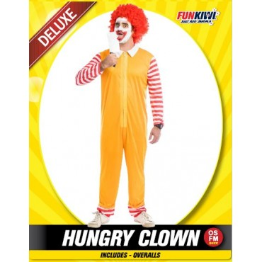Costume Adult Clown Hungry...