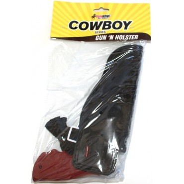 Gun and Holster Cowboy Pistol
